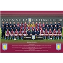 Aston Villa 13/14 Team Poster