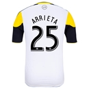Columbus Crew 2014 ARRIETA Authentic Secondary Soccer Jersey