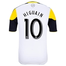 Columbus Crew 2014 HIGUAIN Authentic Secondary Soccer Jersey