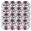 Select Club Training Ball 16 Pack (White/Red)