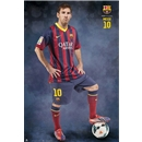 Barcelona Messi Profile Poster