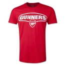 Arsenal Gunners Fashion T-Shirt (Red)