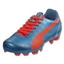 PUMA evoSPEED 5.2 FG Junior (Sharks Blue/Fluo Peach/Fluo Yellow)