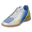 adidas Predito LZ IN Junior (White/Prime Blue/Vivid Yellow)