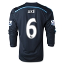 Chelsea 14/15 LS  6 AKE Third Soccer Jersey