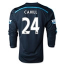Chelsea 14/15 LS 24 CAHILL Third Soccer Jersey