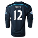 Chelsea 14/15 LS 12 MIKEL Third Soccer Jersey
