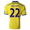 Chelsea 14/15 22 WILLIAN Away Soccer Jersey