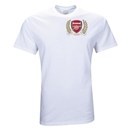 Arsenal Crest T-Shirt (White)