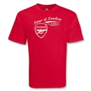 Arsenal Kings of London 1886 T-Shirt (Red)