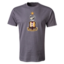 Bradford City Crest T-Shirt (Dark Gray)