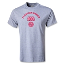 Bayern Munich Distressed Established 1900 T-Shirt (Gray)