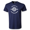 Bayern Munich Distressed Property T-Shirt (Navy)
