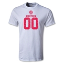 Bayern Munich Distressed 1900 T-Shirt (White)