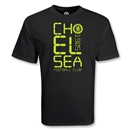 Chelsea Block Soccer T-Shirt (Black)