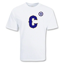 Chelsea Football Club Big C Soccer T-Shirt (White)