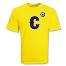 Chelsea Football Club Big C Soccer T-Shirt (Yellow)
