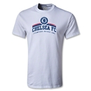 Chelsea FC Distressed T-Shirt (White)