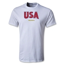 USA CONCACAF Gold Cup 2013 T-Shirt (White)