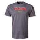 Canada CONCACAF Gold Cup 2013 T-Shirt (Dark Gray)