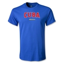 Cuba CONCACAF Gold Cup 2013 T-Shirt (Royal)