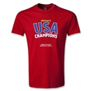 USA CONCACAF Gold Cup 2013 Champions T-Shirt (Red)