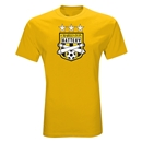 Charleston Battery Three Star Soccer T-Shirt (Yellow)