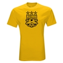 Charleston Battery Three Star T-Shirt (Yellow)