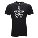 Juventus Eighteen 97 T-Shirt (Black)