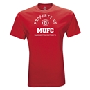 Manchester United Property of MUFC T-Shirt (Red)