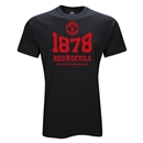 Manchester United 1878 T-Shirt (Black)