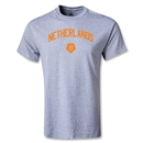 Netherlands Distressed T-Shirt (Gray)