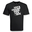 UEFA Champions League Block Logo T-Shirt (Black)