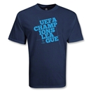 UEFA Champions League Big Block Logo T-Shirt (Navy)