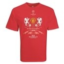 Manchester United Road to London 2 Lions T-Shirt (Red)