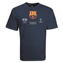 Barcelona Road to London T-Shirt (Navy)