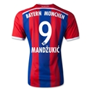 Bayern Munich 14/15 MANDZUKIC Authentic Home Soccer Jersey
