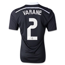 Real Madrid 14/15 VARANE Authentic Third Soccer Jersey