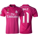 Real Madrid 14/15 BALE Away Soccer Jersey w/ Club World Cup Badge