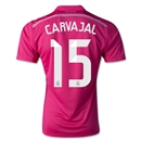 Real Madrid 14/15 CARVAJAL Away Soccer Jersey