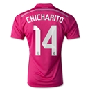 Real Madrid 14/15 CHICHARITO Away Soccer Jersey
