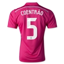 Real Madrid 14/15 COENTRAO Away Soccer Jersey
