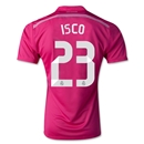 Real Madrid 14/15 ISCO Away Soccer Jersey