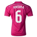 Real Madrid 14/15 KHEDIRA Away Soccer Jersey