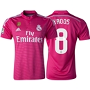 Real Madrid 14/15 KROOS Away Soccer Jersey w/ Club World Cup Badge