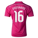 Real Madrid 14/15 ODEGAARD Away Soccer Jersey