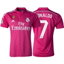 Real Madrid 14/15 RONALDO Away Soccer Jersey w/ Club World Cup Badge