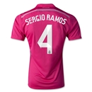 Real Madrid 14/15 SERGIO RAMOS Away Soccer Jersey