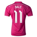 Real Madrid 14/15 BALE Authentic Away Soccer Jersey