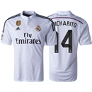 Real Madrid 14/15 CHICHARITO Home Soccer Jersey w/ Club World Cup Badge